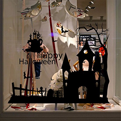 JHD Halloween Window Wall Sticker Decoration (Windower compare prices)
