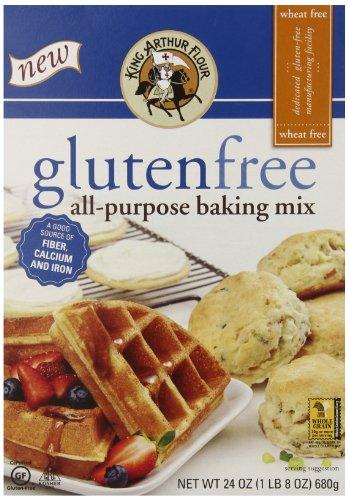 King Arthur Flour Gluten Free All-Purpose Baking Mix, 24 Ounce (Pack of 6) (King Arthur All Purpose Baking compare prices)