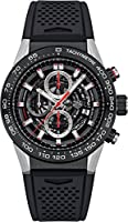 Mens Tag heuer Carrera Calibre Heuer 01 Automatic Chronograph 45 MM CAR2A1Z.FT6044 from Tag Heuer