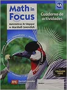 Math In Focus Singapore Math Spanish Student Workbook