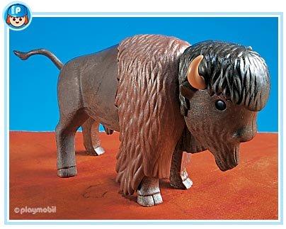 Playmobil 7038 WESTERN INDIAN BISON BUFFALO günstig