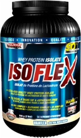 ALLMAX Nutrition IsoFlex Whey Protein Isolate Vanilla -- 5 lbs