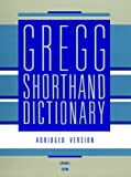img - for Gregg Shorthand Dictionary book / textbook / text book