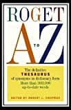 Roget A to Z (0062720597) by Chapman, Robert L.