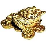 1 X Feng Shui Money Frog /Money Toad Attract Wealth
