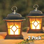 2PC SOLAR FLICKERING CANDLE COACH LAN...