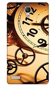 Print Haat Back Cover for Xiaomi Redmi Note 4G (Multi-Color)