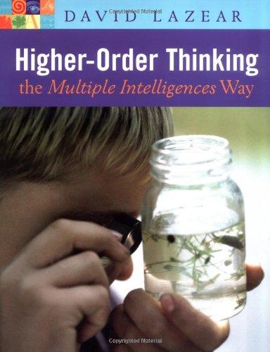 Higher-Order Thinking the Multiple Intelligences Way