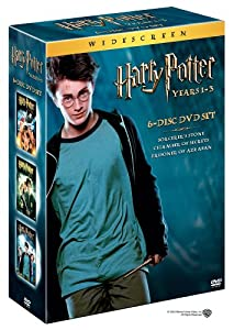 Harry Potter and the Sorcerer's Stone/Harry Potter and the Chamber of Secrets/Harry Potter and the Prisoner of Azkaban (3-Pack Widescreen Edition)