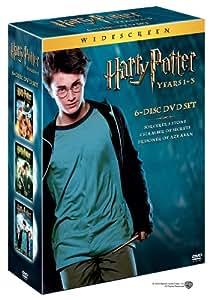 Harry Potter and the Sorcerer's Stone/Harry Potter and the Chamber of Secrets/Harry Potter and the Prisoner of Azkaban (3-Pack Widescreen Edition) (Sous-titres français)
