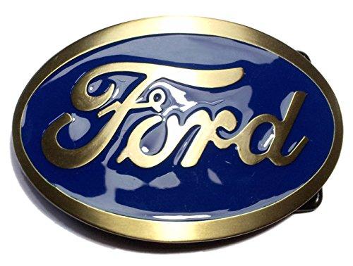 ford-belt-buckle-with-oval-us-muscle-car-motor-car-v8-belt-blue-brass