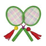 (アワンキー) Aoneky バドミントンラケットセット スポンジハンドル 子供用 おもちゃ スポーツトイ プレゼント 安全安心