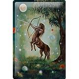 Cartel de chapa Placa metal tin sign Krakowski Sagitario horóscopo astronomía fantasía constelación 20x30 cm
