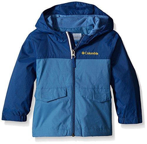 Columbia Toddler Boys Rain-Zilla Jacket, Night Tide/Steel, 2T