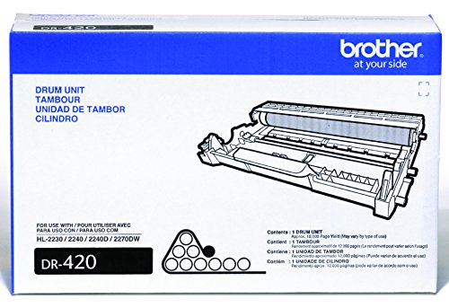 Brother Drum Unit DR420 - Retail Packaging (Brother Printer Ink Tn 450 compare prices)