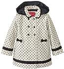 London Fog Little Girls'  Dot Print Trench Coat