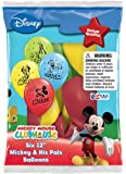 "Disney Mickey and His Pals 12"" Assorted Color Balloons(set of 36)"