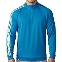 Adidas TM4252S6 Mens Golf 3 Stripes 1/4 Zip Pullover 2016