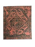 CarpeTrade Alfombra Deluxe Persian Vintage (Rojo/Verde)