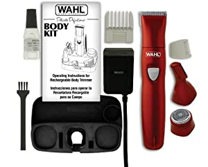 Wahl 9865-100 Delicate Definitions Body Kit with Ladies Rechargeable Trimmer/Shaver/Detailer