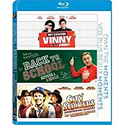 My Cousin Vinny/Back To School/City Slickers [Blu-ray]