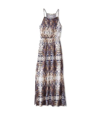 LAmade Women's Baroque Print Maxi Dress