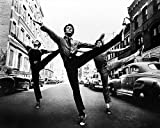 WEST SIDE STORY 11X14 B&W PHOTO ENLARGEMENT