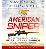 [ AMERICAN SNIPER CD: THE AUTOBIOGRAPHY OF THE MOST LETHAL SNIPER IN U.S. MILITARY HISTORY ] By Kyle, Chris ( Author) 2012 [ Compact Disc ]