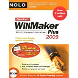 Quicken Willmaker Plus 2009 Edition: Estate Planning Essentials (Book with Software) ~ Shae Irving