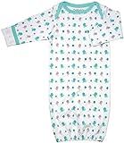 Babysoy Baby Boys' Organic Pattern Bundler (Baby) - Whale