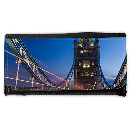 Cartera para hombre // M00421685 Tower Bridge London Bridge Noto // Large Size Wallet
