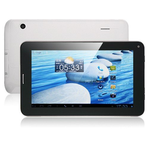 Ployer momo9P – 7 Inch Android 4.0 2G/GSM Monster Phone Tablet PC 1GHz Dual Camera WIFI 8GB White