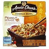 Annie Chun's Peanut Sesame Noodle Bowl, 8.8 Ounce Units (Pack of 6) ~ Annie Chun's