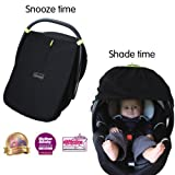 SnoozeShade for Infant Carriers - the breathable sleep and sun shade (UPF50+/max UV protection)