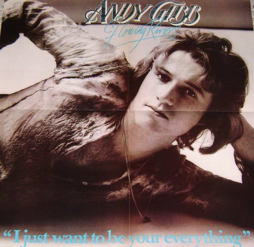 "ANDY GIBB Original ""I Just Want To Be Your Everything"" Vintage 80s Poster by Andy Gibb"