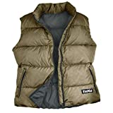 TAIGA Men's Cheakamus – Goose Down Vest, Olive, MADE IN CANADA 700