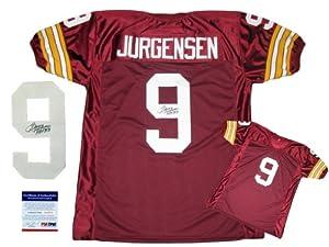 Sonny Jurgensen Autographed Signed Burgundy Jersey - Washington Redskins Autograph