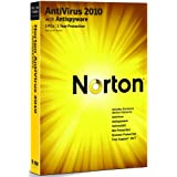 Norton Antivirus 2010 - 1 User 3 Computers (PC CD)by Norton from Symantec