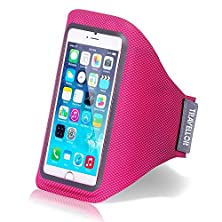 buy Iphone 6 Case,Iphone 6 Armband,Travellor **New** [Adjustable] [Hands Free] [Perfect Earphone Connection] Premium Lightweight Armband With Card Holder Slot For Iphone 6 4.7 Inch (Magenta)