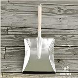 レデッカー(REDECKER) ウッド柄のスコップちりとり(亜鉛メッキ) 45cm 207055