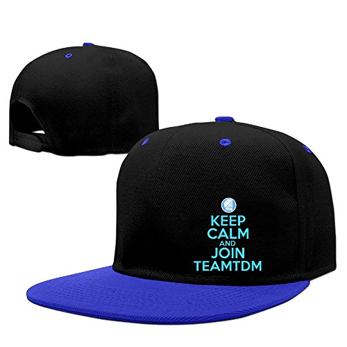teenmax-gorra-de-beisbol-para-hombre-negro-azul-real-talla-unica