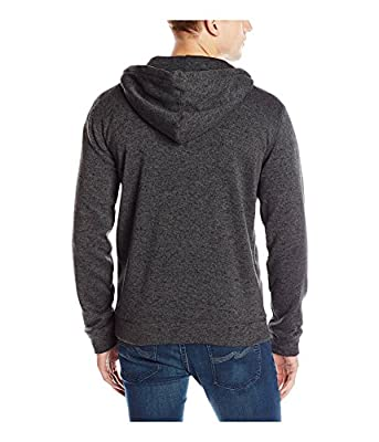 Quiksilver Men's Keller Zip Fleece Hooded Sweatshirt