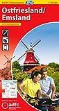 ADFC-Radtourenkarte 5 Ostfriesland / Emsland 1:150.000, reiß- und wetterfest, GPS-Tracks Download und Online-Begleitheft