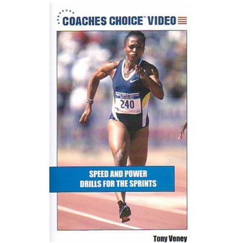 Amazon.com: Speed and Power Drills for the Sprint [VHS]: Tony Veney