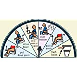 Toilet Training Chart (AAC / ASD / EAL) Point & Select Picture Symbol Visual Aid Resource