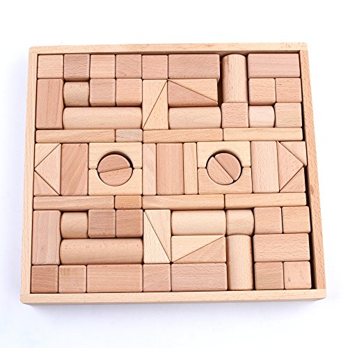 Wooden-Blocks-iPlay-iLearn-wood-block-set-Natural-Wooden-Stacking-Cubes-Blocks-72-PCS