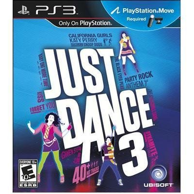 Exclusive Just Dance 3 PS3 Move By Ubisoft