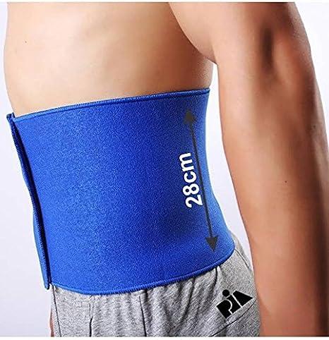 Pia International EXTRA LONG UNISEX NEOPRENE Slimming Belt (BLUE)