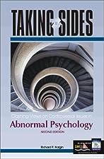 Taking Sides Clashing Views in Abnormal Psychology by Richard Halgin