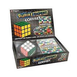 Winning Moves - Coffret expert Rubik's Cube (avec méthode et DVD)